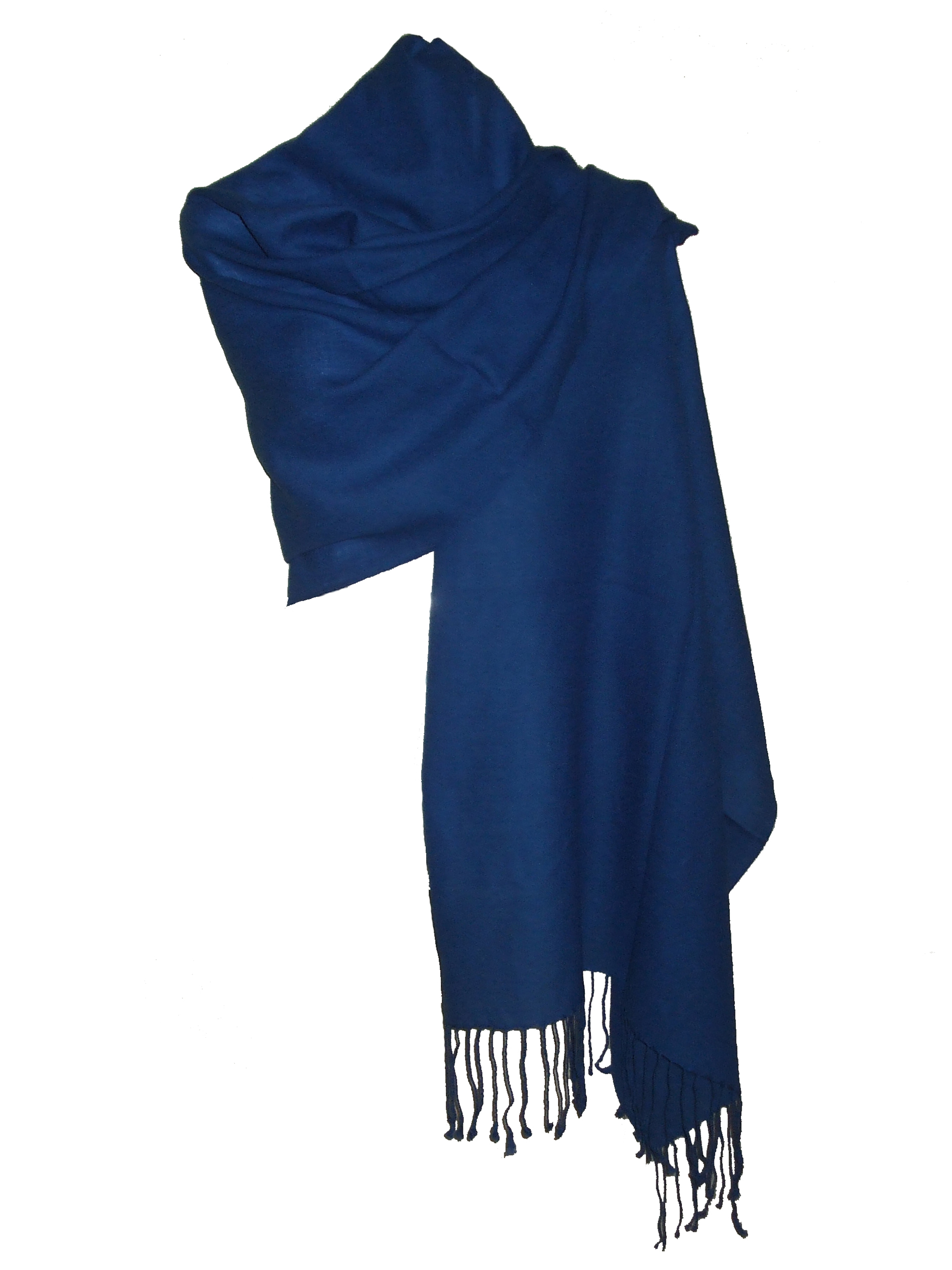 562d2a5d1b6 Etole Echarpe Femme Bleu Indigo en Laine Fine fineBi   itendance.com ...